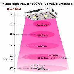 1000W COB Led Grow Light Full Spectrum VEG/Bloom for Hydro Indoor Plant Medicals