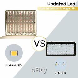 1000W Led Grow Light Full Spectrum for Indoor Plants Growing Bloom Updated LEDs