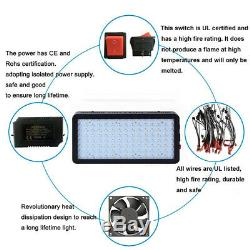 1200W LED Grow Light with 12 Bands Full Spectrum VEG BLOOM Switches for Medicals