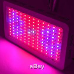 1500W Indoor Hydroponic Plant Flowering Growing Lamp Double Chips LED Grow Light