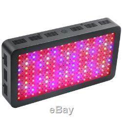 1500W LED Grow Light Black Full Spectrum for Indoor vegetable Plants Flower