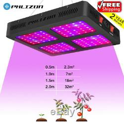 1600W Full Spectrum LED Plant Grow Lights Lamps For Hydroponics GrowithBloom Tents