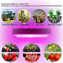 2000W Led Grow Light Full Spectrum + 4'x2' Hydroponic Indoor Grow Tent Grow Box
