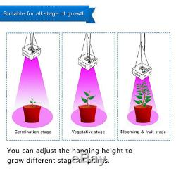200With400With800W COB LED Grow Light Full Spectrum Veg Flower Indoor Bloom Plant