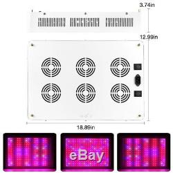 2400W LED Grow Light Kits Full Spectrum Lamp for Plants Indoor Veg Flower 110V