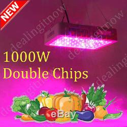 2PCS 1000W LED Grow Light Best VEG-BLOOM Full Spectrum For Flower Plants Veg Hot