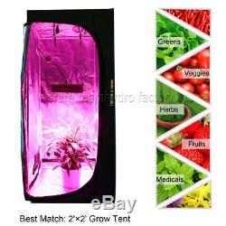 2PCS Mars Pro IIEpistar 80 LED Grow Lights Hydro For Plant Veg Flower Lamp Panel