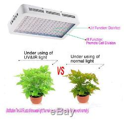 2× 1500W Full Spectrum LED Grow Lights Lamp for Plants Hydroponic Flower Growing