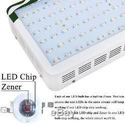 2pcs 300W LED Grow Light Lamp For Hydroponic Indoor Plants Seed Veg Flowering