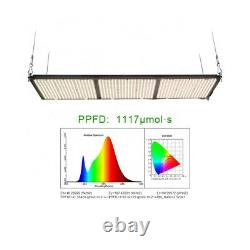 320W Red Spec Grow Light with Samsung LM301H LEDs 3000k + 660nm and HLG-320 Driver