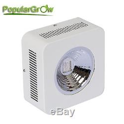 3PC PopularGrow 200W LED Grow Light COB 9 Band Reflector Commercail Flower Plant
