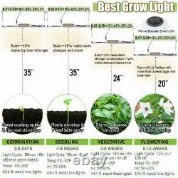 4500W LED Grow Lights Full Spectrum Grow Strip Lamp with IR & UV for Indoor Plant