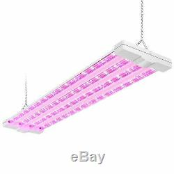 4FT LED Grow Light Indoor Plants Growing Lamp Full Spectrum Bloom Hydroponic 80W