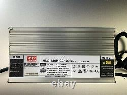 550V4 Grow Light Samsung lm301h 3500k with SWITCHABLE Red IR UV 500w HLG driver