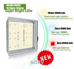 600W Dimmable Plant Led Grow Light Sunlike Full Spectrum for Indoor Plants Herbs