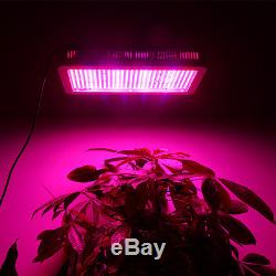 6W 600W LED Grow Light Full Spectrum Panel Flower Veg Hydroponics Lamp Bulb