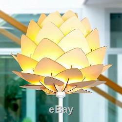 Abstract LED Floor Lamp Modern Flower Light Contemporary Shade Lighting NEW