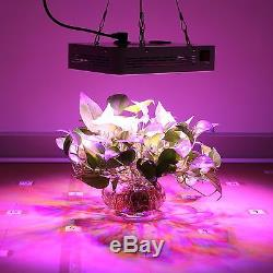 BLOOMSPECT 4PCS 300W LED Grow Light Panel Hydroponic Veg Flowering ON/OFF Switch