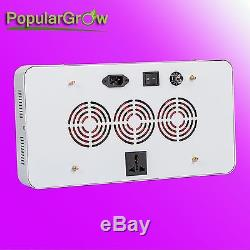 Dimmable 300W LED Grow Light Full Spectrum Plant Veg Flower Hydroponic Grow Lamp