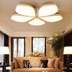 Dimmable LED Ceiling Light Modern Remote Control Lamp Living Room Bedroom 60W