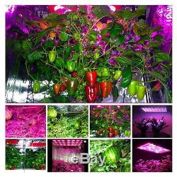 Dual Chips 600With1000With1200W Full Light Spectrum LED Plant Grow Lamp Veg Flower
