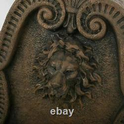 Eyosias 36 Outdoor Lion Head Fountain With LED Lights
