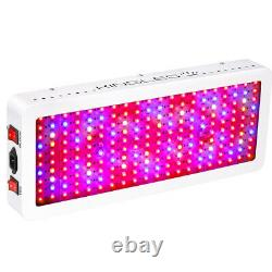KING 2000W Full Spectrum LED Grow Light Hydroponics For Indoor Plants US STOCK