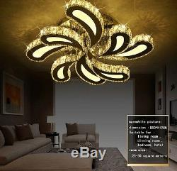 LED flower crystal ceiling lighting lights fixtures Curtain pendant lamps