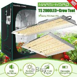 MarsHydro TS2000W Led Grow Light Veg Flower Plant Lamp/ Kit Indoor for Grow Tent