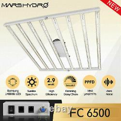 Mars Hydro FC 6500 Led Grow Light SamsungLM301B Commercial Greenhouse Indoor Kit