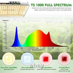 Mars Hydro TS 1000W LED Grow Light+2'x2' Indoor Tent Carbon Filter Complete Kits