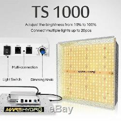 Mars Hydro TS 1000W LED Grow Light Full Spectrum for Indoor Panel Lamp Veg Bloom