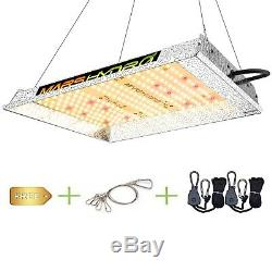 Mars Hydro TS 600W LED Grow Light Full Spectrum for Indoor Panel Lamp Veg Bloom