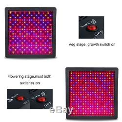 Mars II 1600W LED Grow Light Full Spectrum 5'x5' Grow Tent Indoor Growth Flower