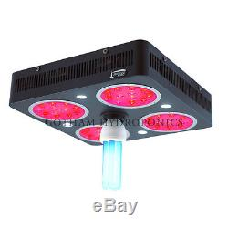 New 2016 426w FSF Lighthouse Hydro ION 8 LED Grow light Flower Cree UVB L032