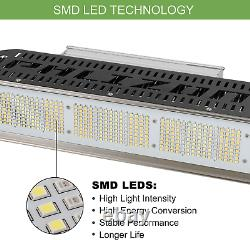 PH-2000 SMD Led Plant Lights Full Spectrum Grow Lamp 2X4ft for Tent Hydroponics