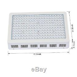 PopularGrow 600W Full Spectrum LED Grow Light Hydro Hydroponic Plant Flower Lamp