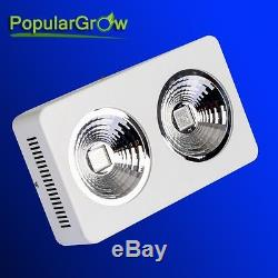 Reflector 400W Led Grow Light Growth Flower Switches Plants Lamp COB chips