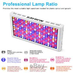 Reflector Remote Control 2000W Full Spectrum Led Grow Light Lamp Timer Veg Bloom