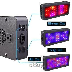 TS-1200w Double Switch Bloom/VEG LED Grow Light Full Spectrum Indoor Plants