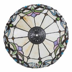 Tiffany Style Lamp Baroque Stained Glass Desk Lamp Home Decor Lighting