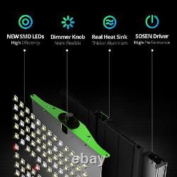 VIPARSPECTRA Pro Series P2500 Full Spectrum LED Grow Light for Hydroponic Plants